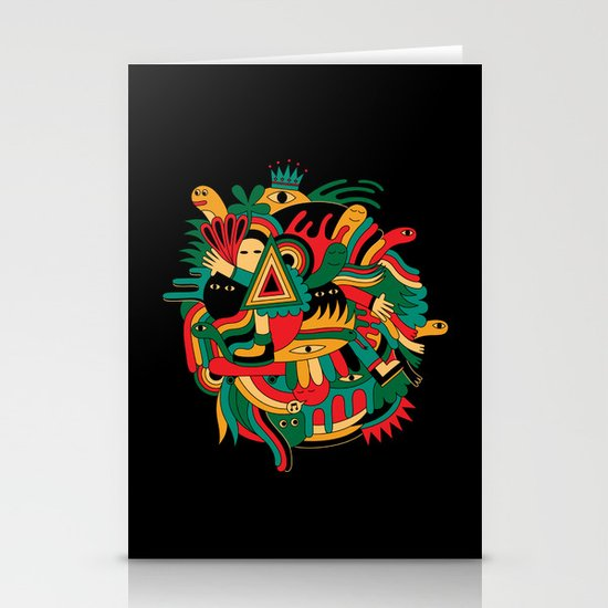 The world Stationery Card