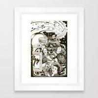 Music Jam Framed Art Print