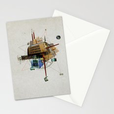 Collage City Mix 1 Stationery Cards