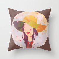 Picture Disc Throw Pillow