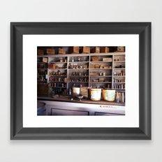 Ghost Store Framed Art Print