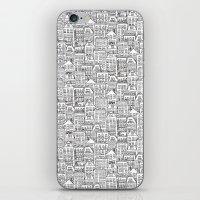 urban winter iPhone & iPod Skin