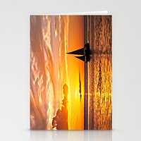 Sail Into The Sunset  Stationery Cards