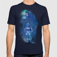 Balloon Fish Mens Fitted Tee Navy SMALL