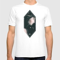 Shining Stars Mens Fitted Tee White SMALL