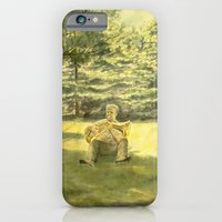 iPhone & iPod Case featuring Man, Music and Nature by Vargamari