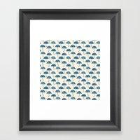 rain #2 Framed Art Print