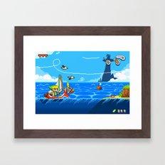 The Legend of Zelda: Wind Waker Advance Framed Art Print