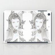White Raven iPad Case