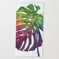 Leaf vol 1 Beach Towel