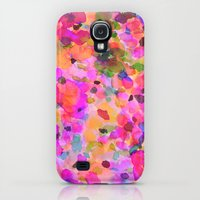 Galaxy S4 Cases featuring Fleur by Amy Sia