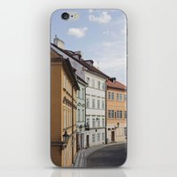 Prague in Pastels iPhone & iPod Skin