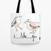 I Like You Tote Bag