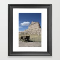 Trail's End Framed Art Print