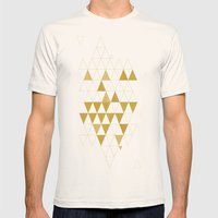 My Favorite Shape Mens Fitted Tee Natural SMALL