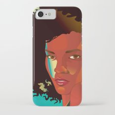 Painted Lady iPhone 7 Slim Case