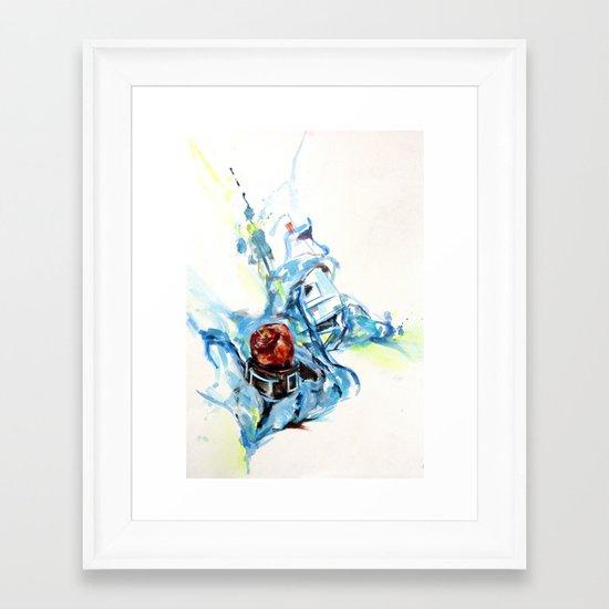Fruity Time Framed Art Print