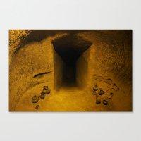 Dark Tomb Canvas Print