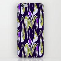 Ocean Purple iPhone & iPod Skin