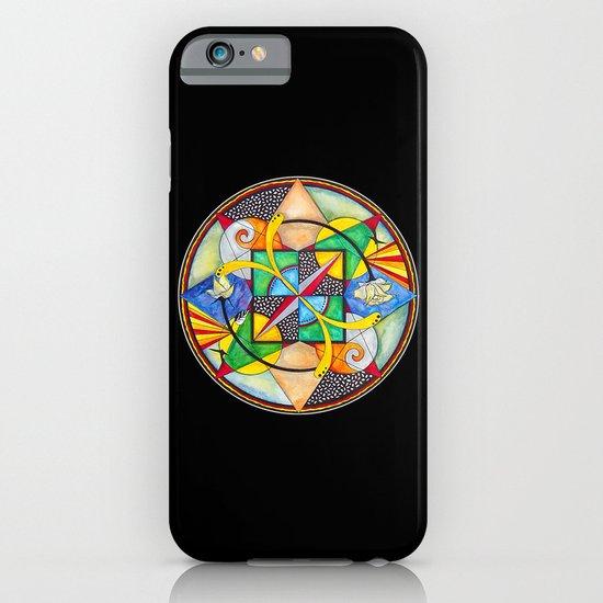 Mandala: Soul Mates iPhone & iPod Case