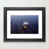 Walk On Water Framed Art Print