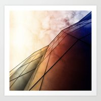 The Wall Of The City Art Print