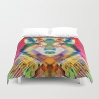 Corporate Wolf Duvet Cover