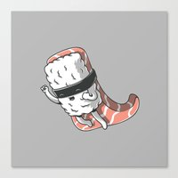 Super Sushi Canvas Print