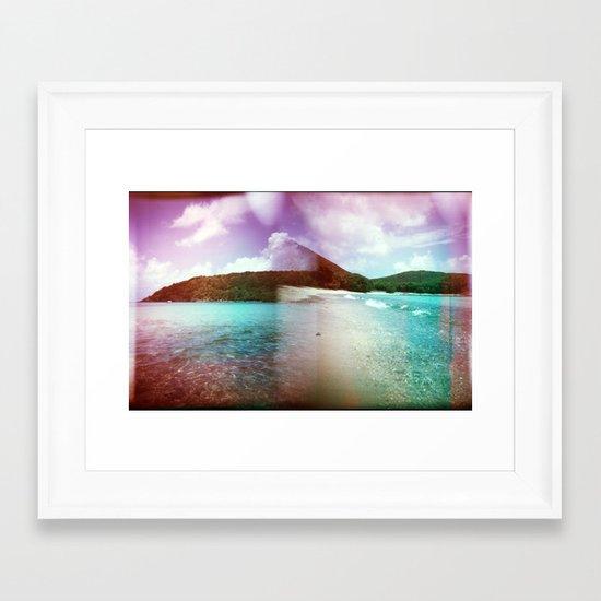 St John, USVI Framed Art Print