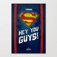 Hey You GUYS!!!! Canvas Print