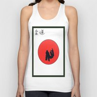 Art Of Judo Print Unisex Tank Top