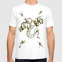 Eel Power Mens Fitted Tee White SMALL