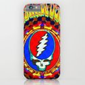 Grateful Dead #8 Optical Illusion Psychedelic Design iPhone & iPod Case