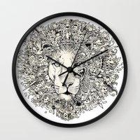 The King's Awakening Wall Clock