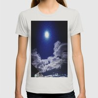 Signs In The Sky Collect… Womens Fitted Tee Silver SMALL