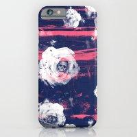 Roses & Skulls iPhone 6 Slim Case