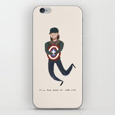 Bucky Barnes iPhone & iPod Skin