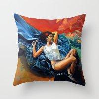 Yann Throw Pillow