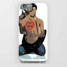 Love is when two hearts are united... iPhone 6s Slim Case