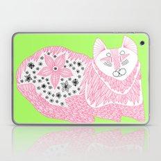 Pink Kitty Laptop & iPad Skin
