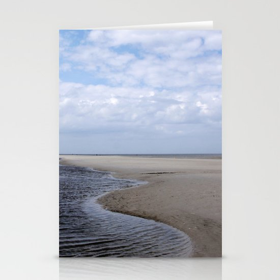 the sea № 6 Stationery Card