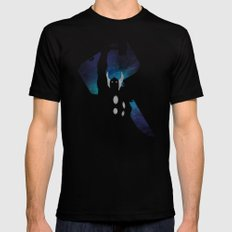 SuperHeroes Shadows : Thor SMALL Black Mens Fitted Tee