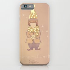 Christmas creatures- The Visiting Friend iPhone 6 Slim Case