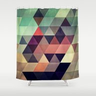 Tryypyzoyd Shower Curtain
