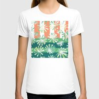 Fan Palm - Rincon Womens Fitted Tee White SMALL