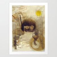Bcsm 001 (captain) Art Print
