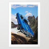 car Art Prints featuring Car by John Turck