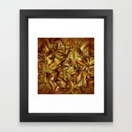 Framed Art Print featuring The Harvest by Patty Weiler