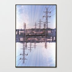 Landscapes c6 (35mm Double Exposure) Canvas Print