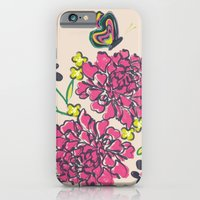 iPhone & iPod Case featuring budding love by Vy La